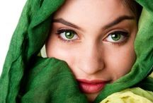 Colour me Green / Green, healing and relaxing, the colour of life, nature, fertility and harmony.