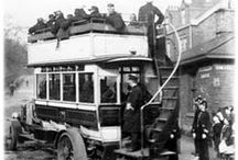 History of public transport / pins we like on historical images of public transport in South Yorkshire