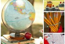 School: Back to School, School Parties, Photo Ideas / by Styling the Moment