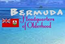 Olderhood Bermuda / The Jewel of the Atlantic. A population of just over 60,000, Bermuda has about 21 square miles of land and is about 600 miles East of the East Cost of the United States. Come see us.