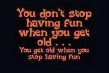 Retirement Humor / One of the wonderful attributes that us old folks have is the genuine ability to laugh at ourselves.