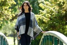 Wrap up this Autumn - Womenswear / Keep snuggled up this season with one of our fabulous women's fashion wraps! Gorgeous designs and soft to the touch, a big PEP&CO favourite for Autumn!