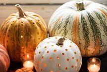 Pumpkin  / Dynia / culinary and home decor ideas for fall using pumpkins