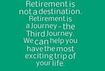 The Third Journey / For most of us Retirees the third phase of our life after Childhood, then Adulthood and now Olderhood can be the most exciting and inspirational journey of our life.... we call it The Third Journey