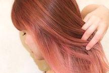 ピンク ヘアカラー≪pink/haircolor≫ / オススメのヘアカラーを集めています!  ≪ヘアカラー・haircolor・color・髪形・髪型・ヘアスタイル≫