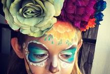 Dia de los muertos / Some great design ideas for Dia de Los Muertos!