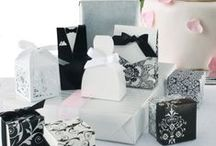 Inspiration: WEDDING / Fun wedding ideas and packaging that we enjoy. Bags & Bows has a wide selection of wedding gift packaging & wedding favors to turn these ideas into a reality.