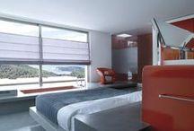 RED / #red #interior #blind #room #home #design #interiordesign