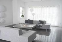 WHITE / #white #interior #room #home #blind #interiordesign