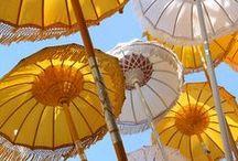 Umbrellas / ;)