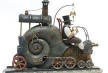 Steampunk / Alles aus Metall oder was so aussieht. ;)