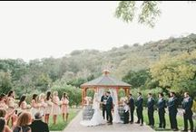 Ceremony Decor / The most important part of the wedding day is the ceremony!  Don't forget to add something pretty to make your ceremony site pop!