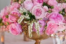Flower Power / Floral decor from ceremony decorations, center pieces, bouquets, and displays.