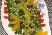 ENSALADAS - Salads / Ricas ensaladas. Good salads. -Mira tambien el tablero de salsa que hay distintas vinagretas y salsas para ensaladas. Y crea una para cada ocasión.  -see you pin of sauces for make your best salad.