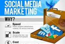 Social Media and Marketing / mostly re-pinning creative and informative infographics