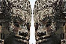 .T I B E T ....DK-Ázsia, / szobrok, épületek, eszközök,