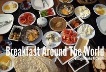 DESAYUNOS, Breakfast, deyuner / Desayunos del mundo entero