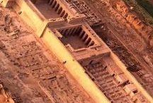 Egyiptom....TEMPLOMOK....... / Nilus menti  légi felvételek.....