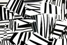 Graphic patterns - timeless black and white