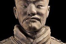 KÍNA...távol-kelet / építészet, szobrok,
