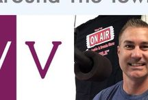 """""""Around the Town"""" / Listen to Vero Vine's Stacy Cook with Angelo & Brenda Live on Vero's most listened to weekend morning radio show! Vero's Talk Station WAXE 107.9 1370AM iHeartRadio"""