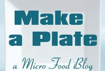 Vero Beach Food Blog / Make A Plate as a 'Viner or as a restaurant, and guess which plate belongs to whom!