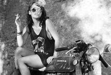 biker queens / motorcycle, woman, girl