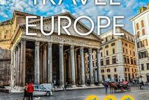 Travel Europe - Spend Life Traveling / The best pins about traveling in Europe: from city breaks to beach destinations and off the beaten track destinations.