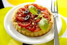 Lämpimät tomaattiherkut