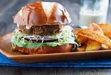 Plant-Based Sandwiches / Sandwiches, Wraps, Burgers