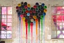 We Love Art! / Art in all forms, in all places!