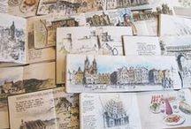 Sketchbook / Drawing is the bones of art..