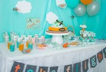 Airplanes Clouds & Cute! / Airplane themed birthday party ideas!