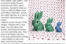 Sylvac / Sylvac collection, mainly bunnies! :)