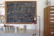 DIY Chalkboard Ideas / Some ideas for Fun Chalk inspiration!