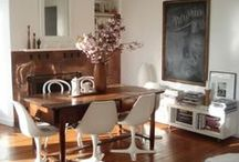 Home Decor with Chalkboards / Creative ways to use blackboards and Fun Chalk markers in your home