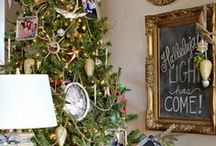 Merry Little Christmas / Use Fun Chalk Liquid Markers when planning your next celebration.