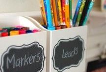 Kids Art, Crafts and School Ideas / Classroom ideas using Fun Chalk Liquid Markers.