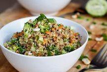Quinoa & Recettes / Des recettes et du quinoa pour tous les goûts !