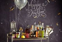 Happy New Year! / Cool New Year Ideas for Chalkboard Signs and Chalkboard Walls.