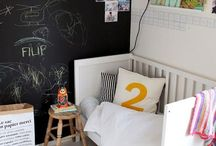 Awesome Kids Rooms / Use Chalkboards and chalk paint to design a room that sparks your child's creativity. Fun Chalk Markers are dustless and washable making clean-up extremely easy!