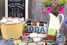 Entertaining / Entertaining is fun with chalkboards. They add a personal touch.