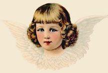 anioły / postacie aniołow ,elfów