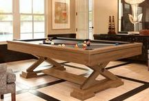 Billiards & Games / Here at Leisure Fitness we sell more than just fitness equipment. We also have the best selection of pool tables, air hockey tables, shuffleboard tables, table tennis, and much more to keep your family happy & active!