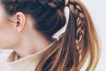 HAIR | Up-dos / Inspiration for hair styles, hair colours and haircuts.
