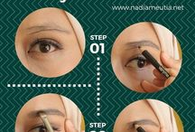Tips dan Tutorial Dandan / step by step menggunakan make up.