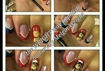 Step by Step / A step by step pics of how I do my nail art!!!!