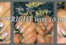 I Love My SAILOR- Nail Art