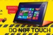 Lenovo Touch / Estos son algunos de nuestro principales productos TOUCH de nuestras líneas ThinkPad y IdeaPad. Tablets, ultrabooks e híbridos son parte de nuestra atractiva línea.