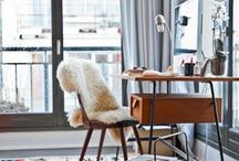 Home Office Design Ideas / Trends and Tips for your Home Office Design Ideas  ideas and inspiration for redesign your home and  mid century style or vintage style